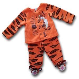 90s VTG Disney Baby Tigger 2 Piece Sweatsuit SZ 3M